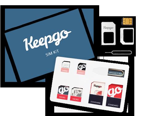 Keepgo Global API SIM Card