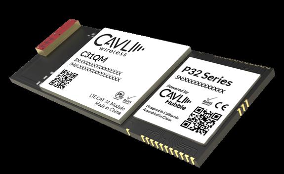 P32C31QM LTE CAT NB-IoT, CAT M1 IoT Edge Module