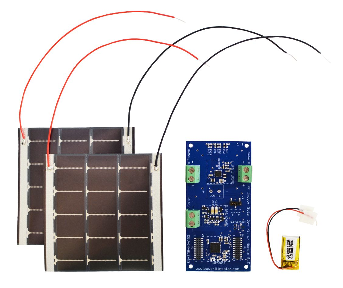 Indoor Solar Development Kit with Nordic BLE (DEV-IN-BLE-NS)